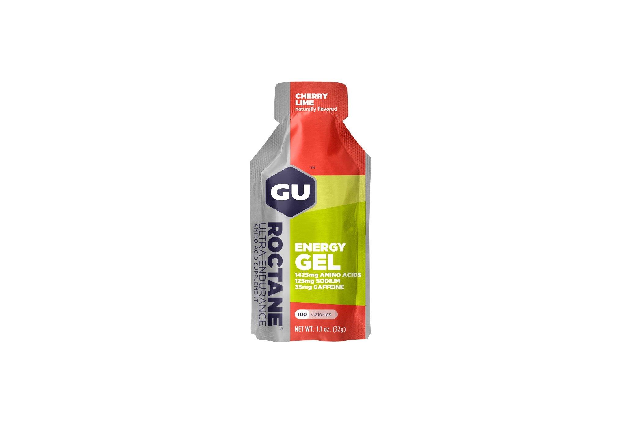 GU Gel Roctane Ultra Endurance - Cerise/Citron vert Diététique Gels