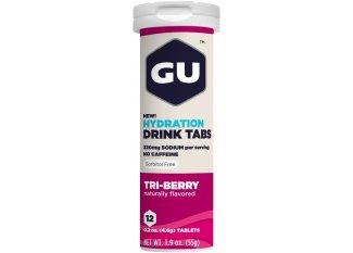 GU Tabletas Hidratantes Drink - Frutas del bosque
