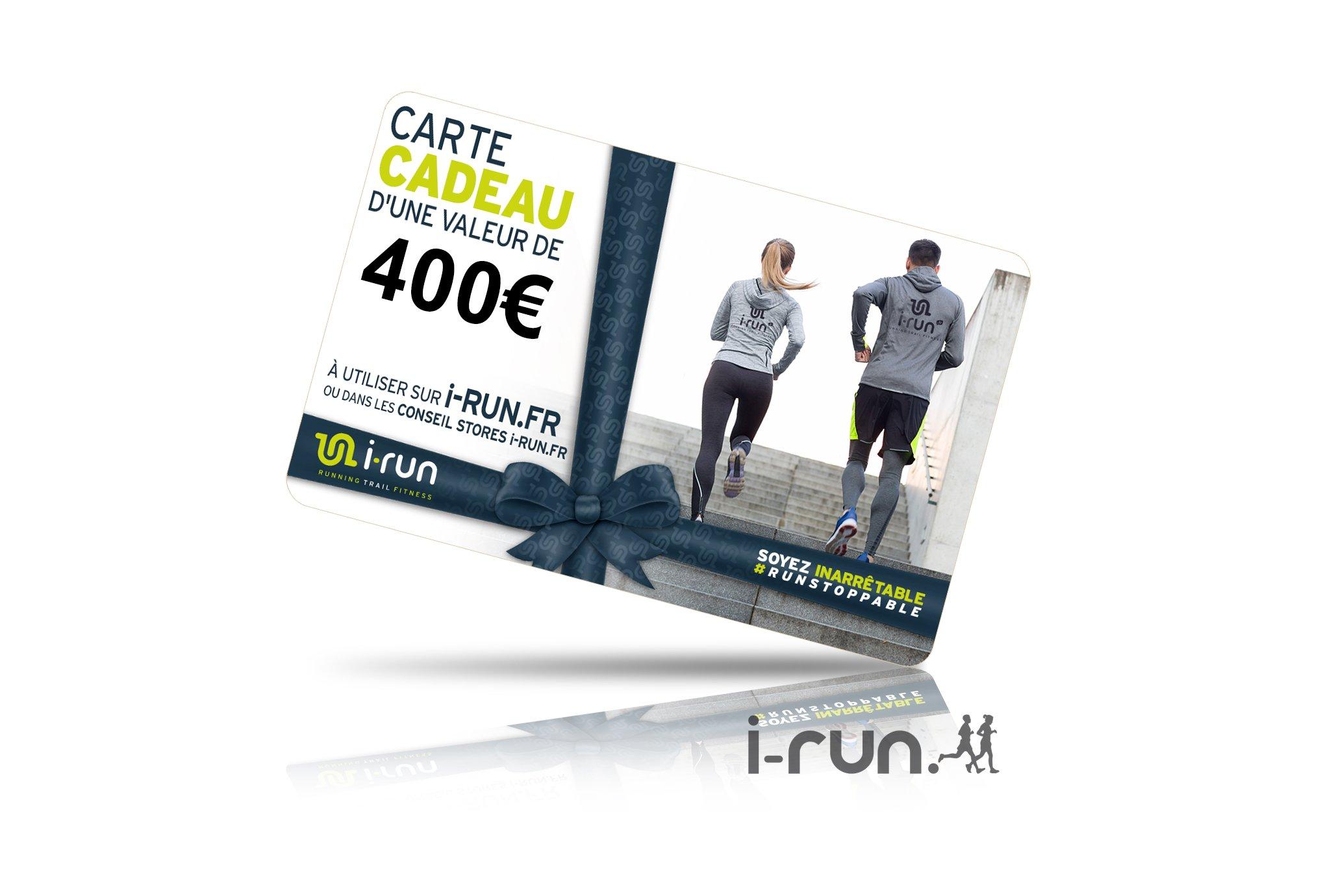 I-Run.Fr Carte cadeau 400 cartes cadeau