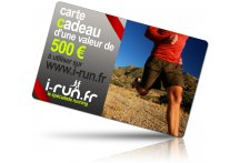 i-run.fr Carte Cadeau 500