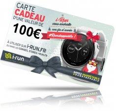 i-run.fr Carte Cadeau 100 Spéciale Noël - C
