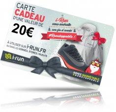 i-run.fr Carte Cadeau 20 Spéciale Noël - T