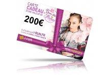 i-run.fr Carte Cadeau 200 Fête des Mères