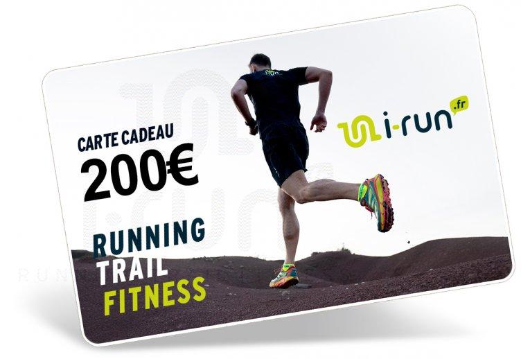 i-run.fr Carte Cadeau 200 M