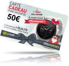 i-run.fr Carte Cadeau 50 Spéciale Noël - C