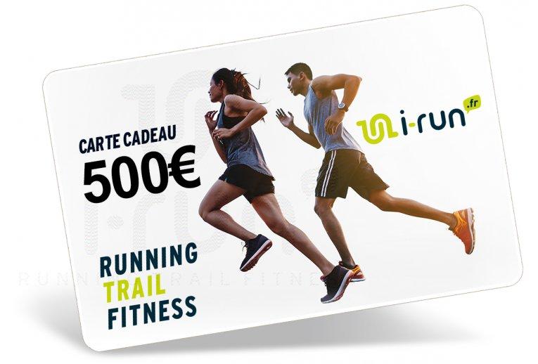 i-run.fr Carte Cadeau 500