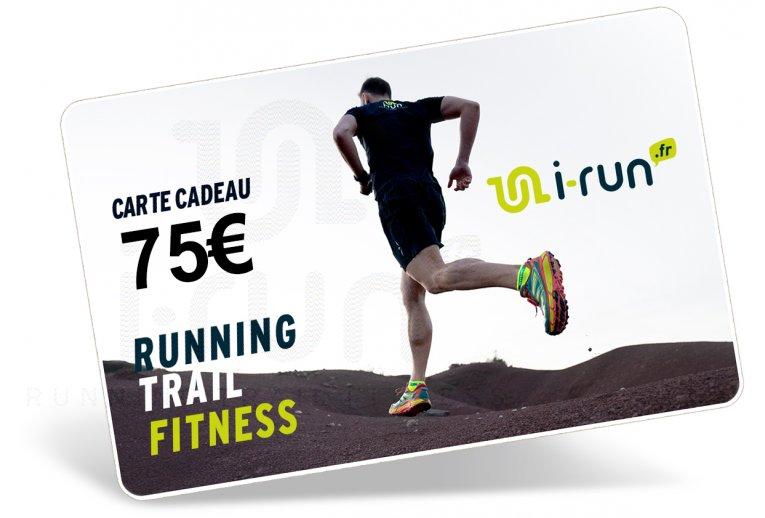 i-run.fr Carte Cadeau 75 M
