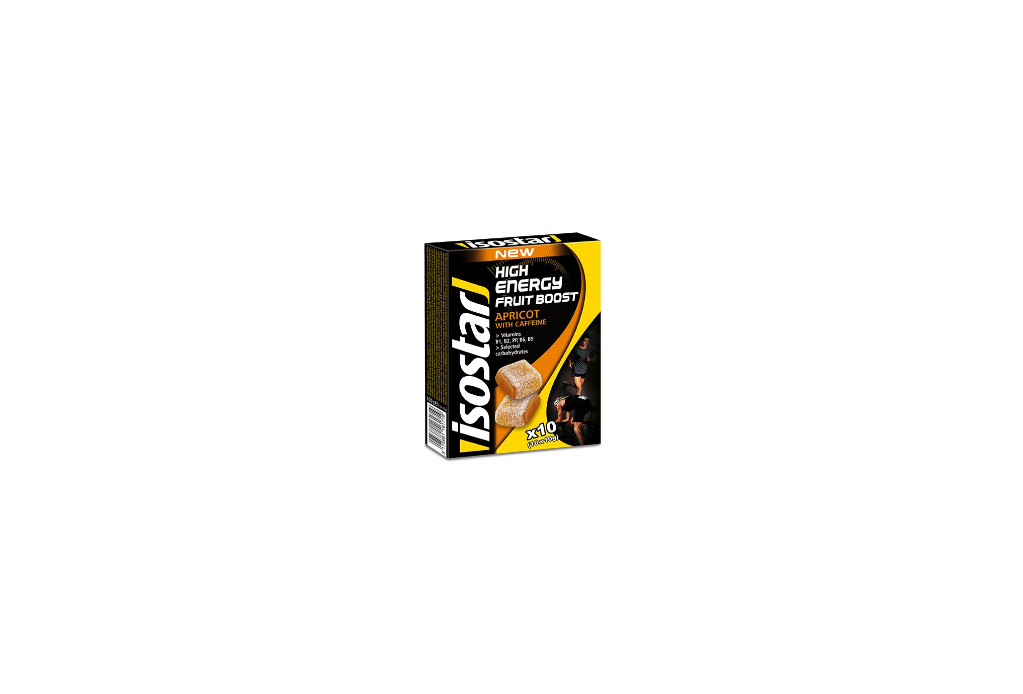 Isostar High Energy Fruit Boost - Abricot Diététique Barres