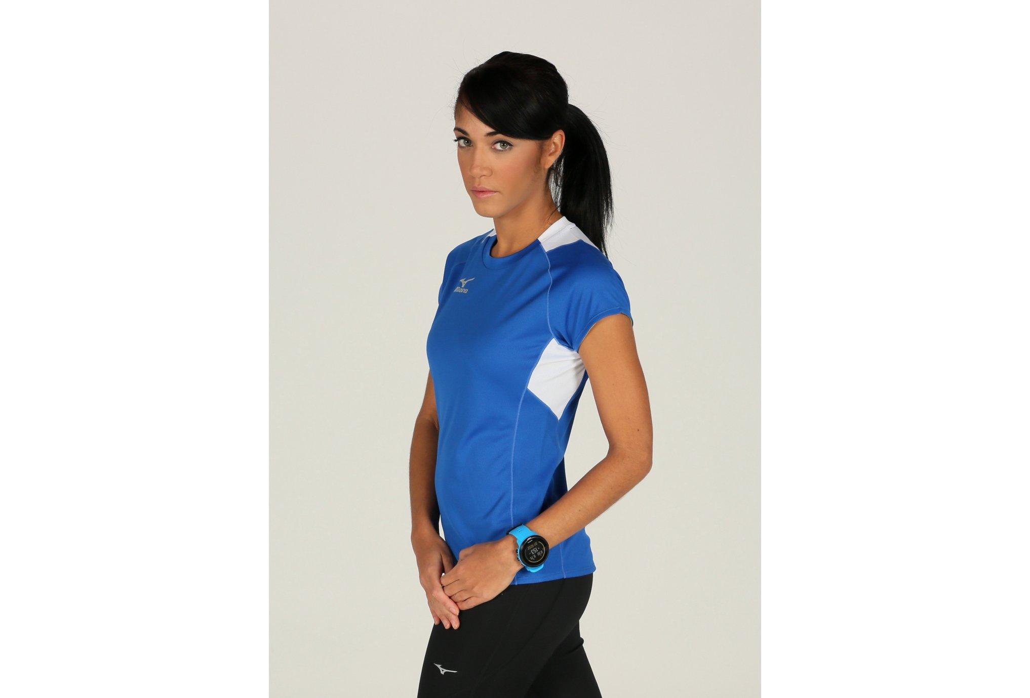 Mizuno Tee-Shirt Trad W vêtement running femme