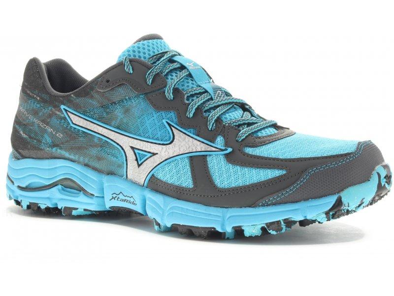 chaussures trail mizuno femme