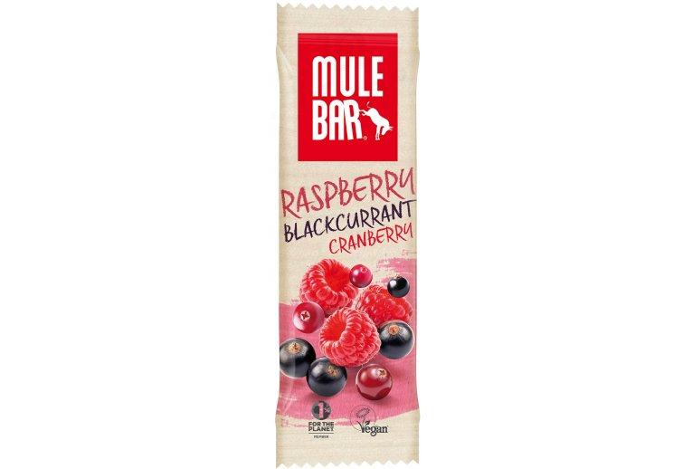 Mulebar Barre énergétique Bio Vegan - Fruits Rouges