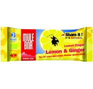 Mulebar Barre énergétique Citron Gingembre