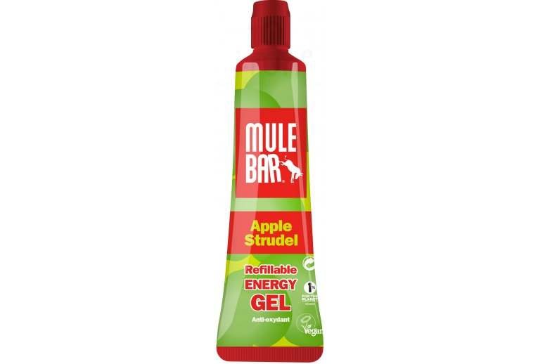 Mulebar Gel Energy Apple Strudel Vegan - Pomme/Cannelle