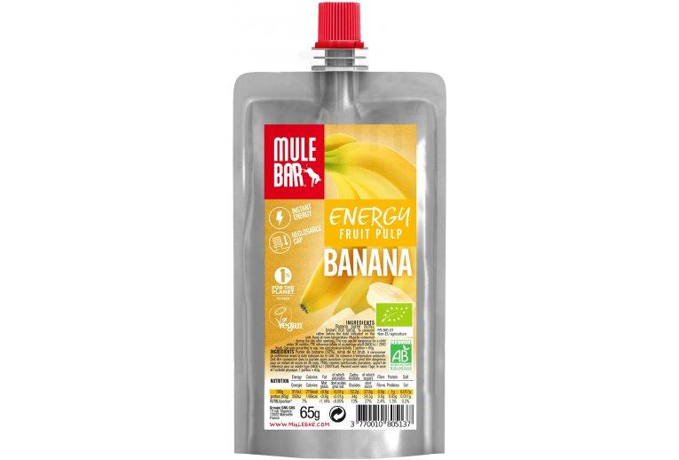 Mulebar Pulpe de fruits Bio & Vegan - Banane