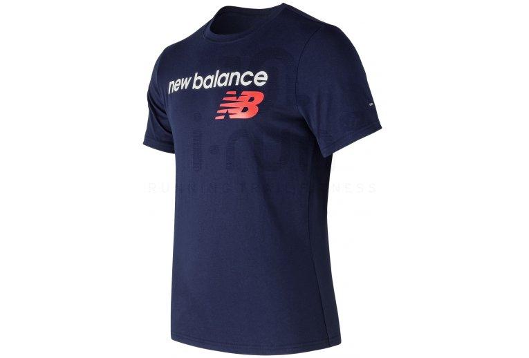 new balance hombre camiseta