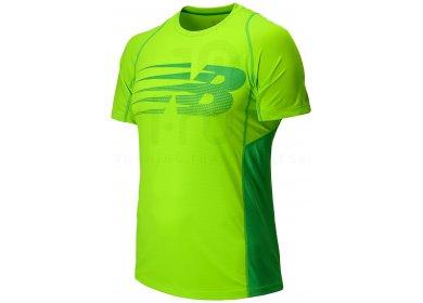New Balance Tee shirt Accelerate Print M