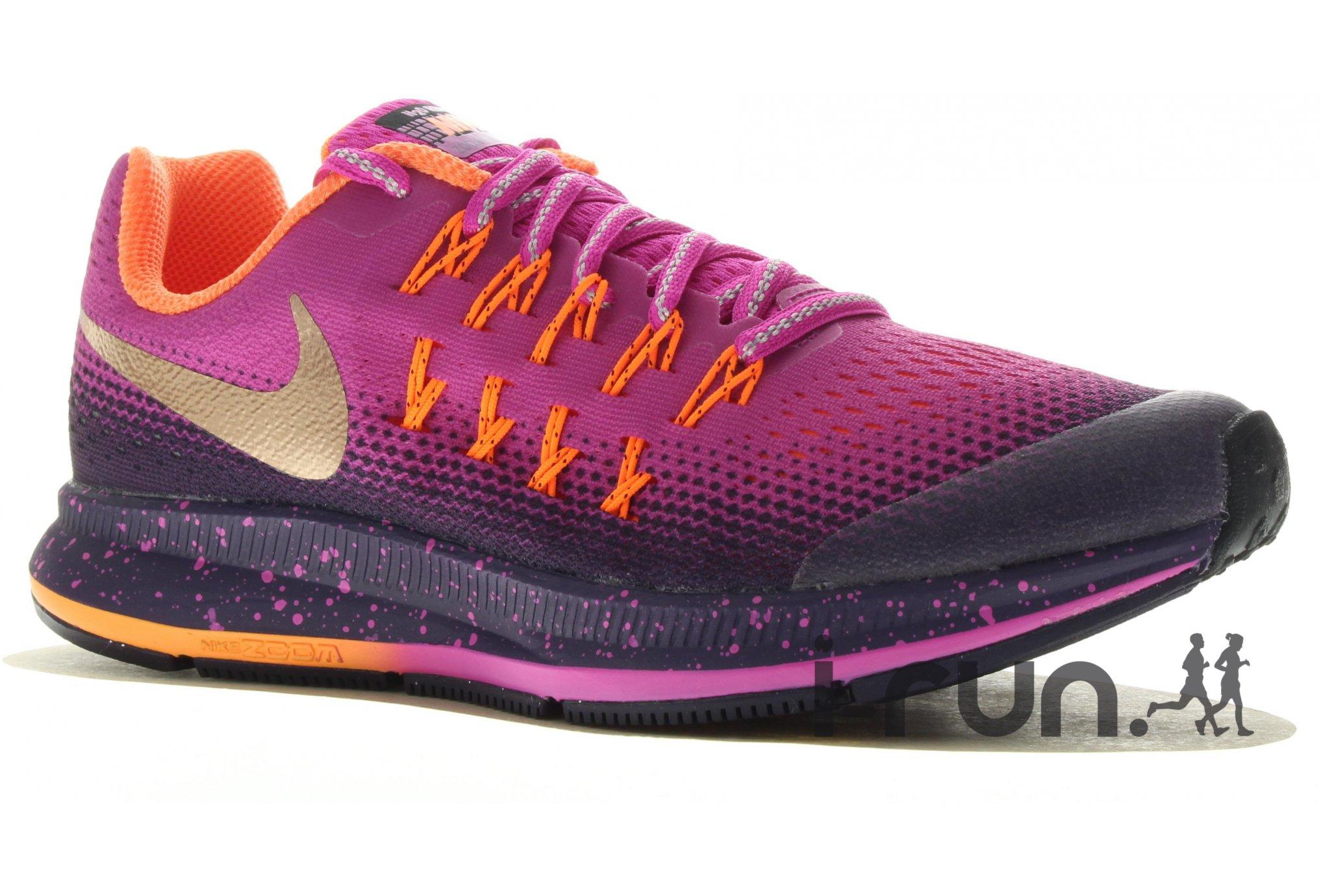 Nike Zoom Pegasus 34 Femmes Orange Rose