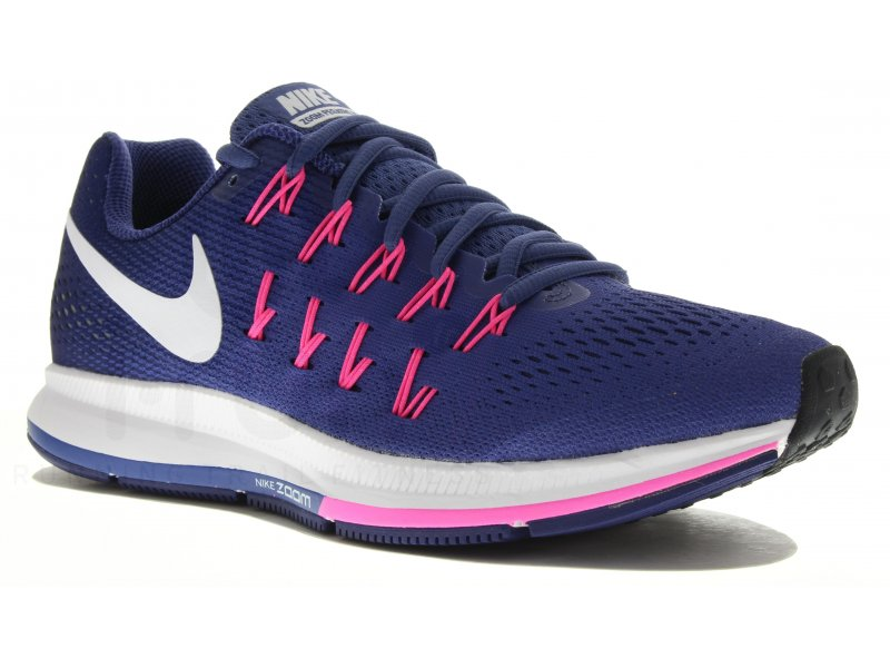 nike air zoom pegasus 33 w pas cher chaussures running femme running route chemin en promo. Black Bedroom Furniture Sets. Home Design Ideas