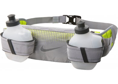Nike ceinture porte bidons storm 2 0 pas cher accessoires running sac hydratation gourde en - Ceinture porte gourde running ...