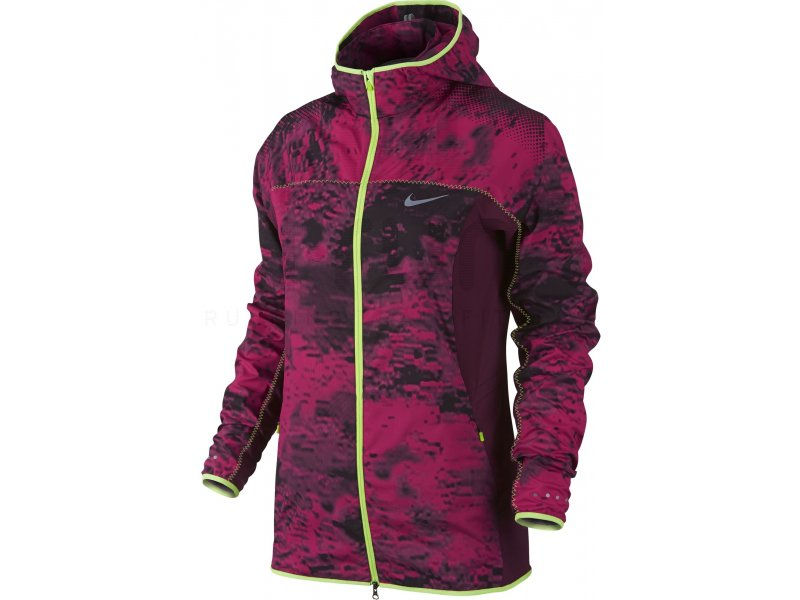 Nike Coupe-vent Trail Kiger Printed W pas cher - Vêtements femme running Vestes / coupes vent en ...