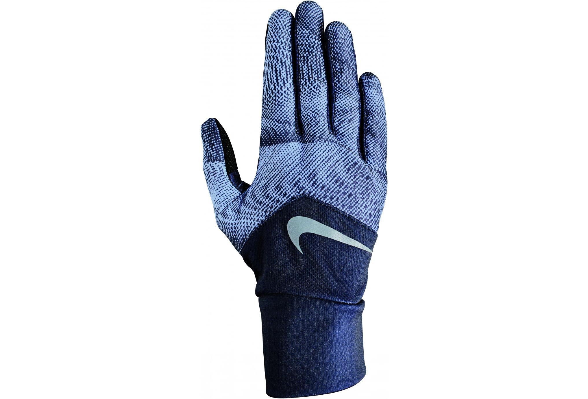 Nike Dri-Fit tempo printed w bonnets / gants