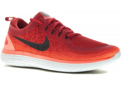 finest selection 16892 400c7 nike free rn distance rouge