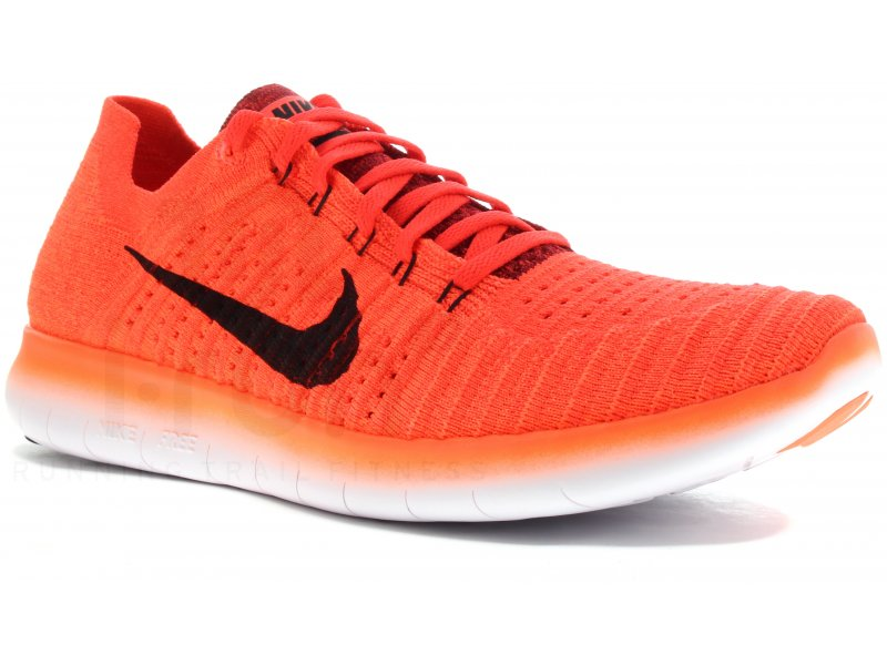 nike free rn flyknit m pas cher chaussures homme running route en promo. Black Bedroom Furniture Sets. Home Design Ideas