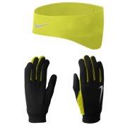 Nike Pack Bandeau + Gants Dri-Fit M