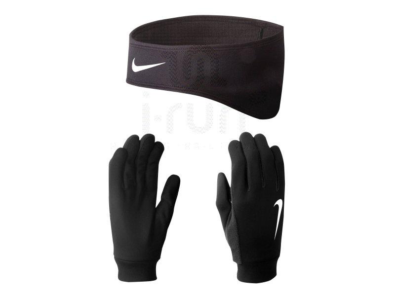 nike pack bandeau gants dri fit m pas cher destockage running accessoires en promo. Black Bedroom Furniture Sets. Home Design Ideas