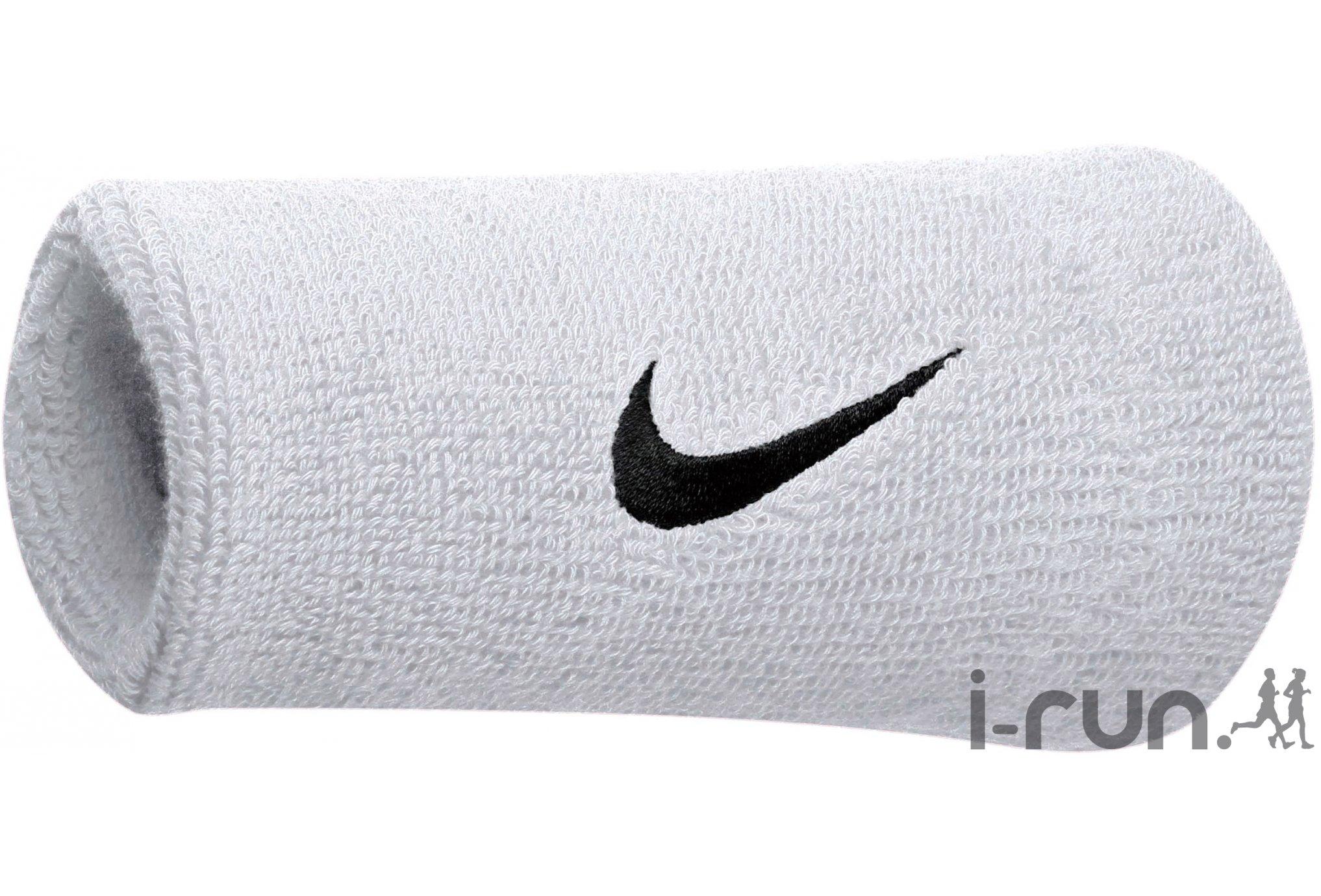 Nike Poignets Swoosh doubles Diététique Accessoires