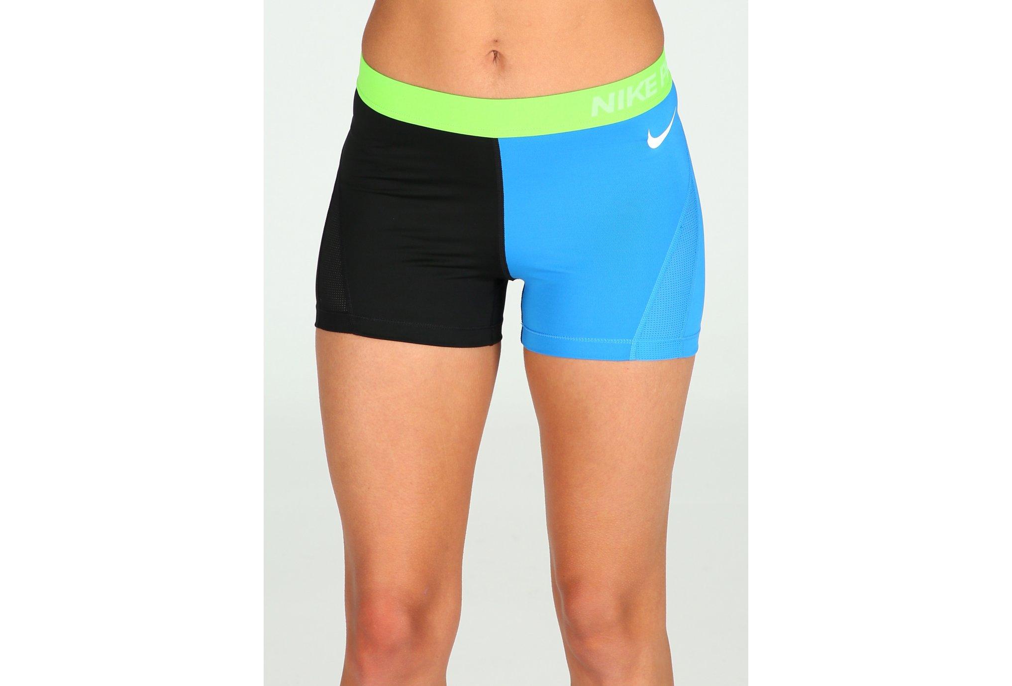 Nike Pro Cuissard court Hypercool ColorBlock W vêtement running femme