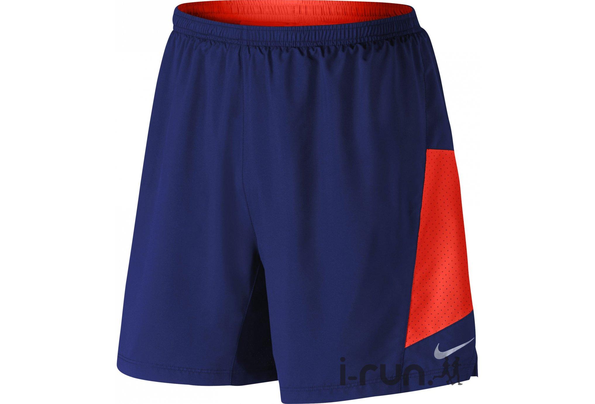 Nike Short Pursuit 2en1 17.8cm M v�tement running homme