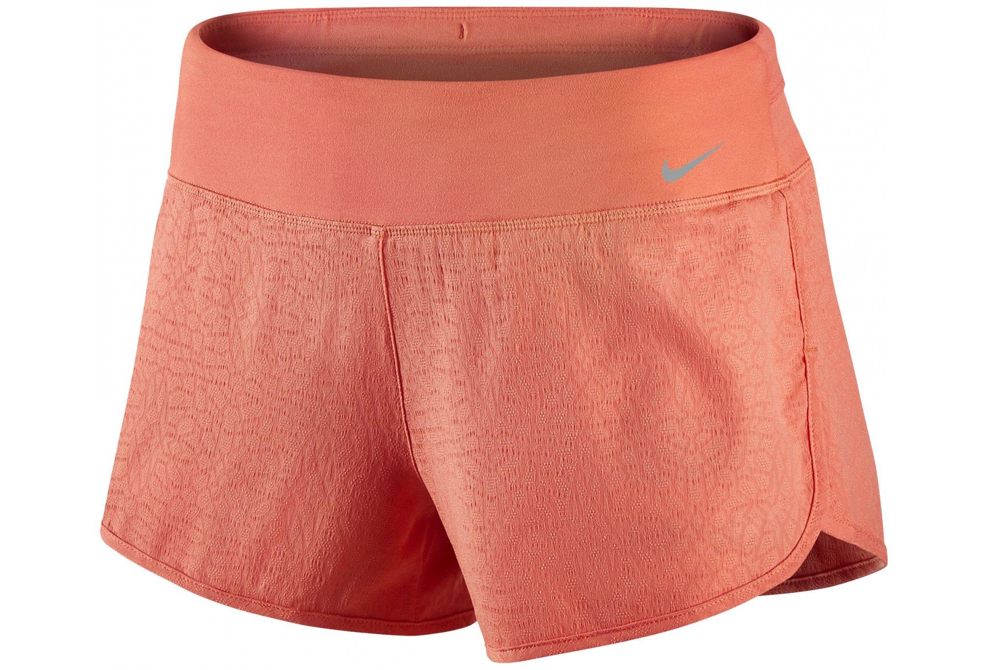 Nike Short Rival Jacquard 7.5cm 2en1 W Diététique Vêtements femme