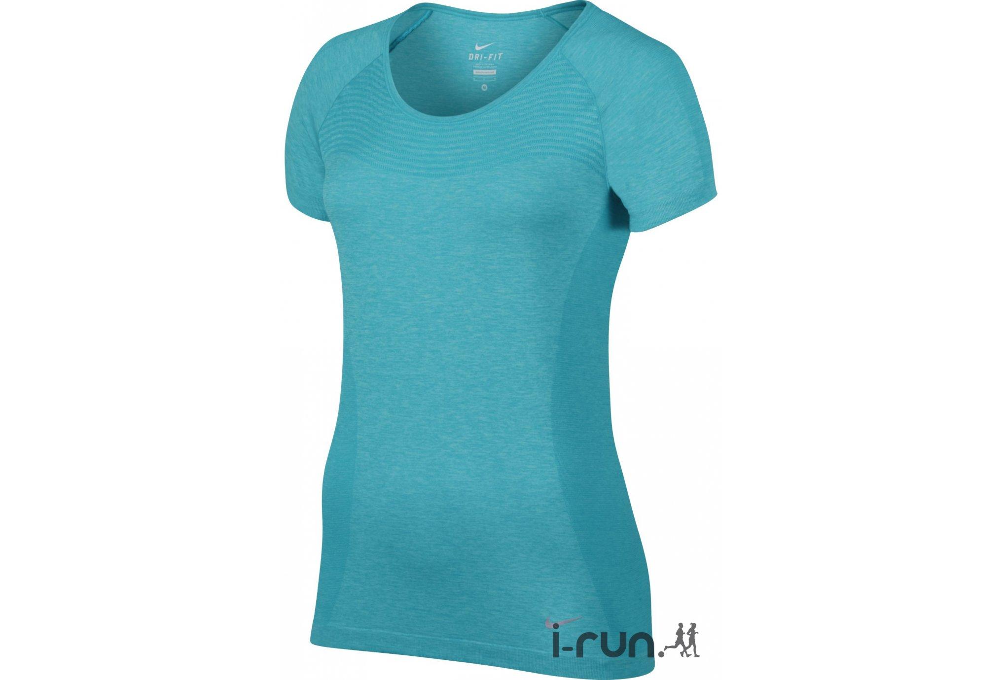 Nike Tee-shirt Dri-Fit Knit W Diététique Vêtements femme