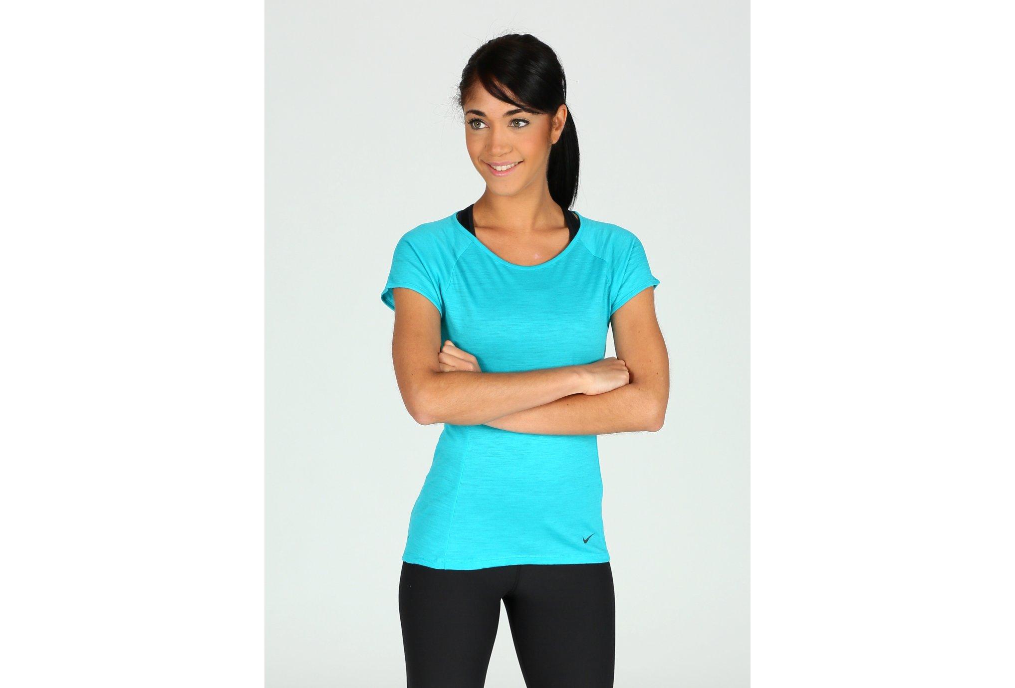 Nike Tee-shirt Lux W vêtement running femme