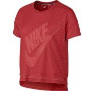 Nike Tee-shirt Mesh Crop W