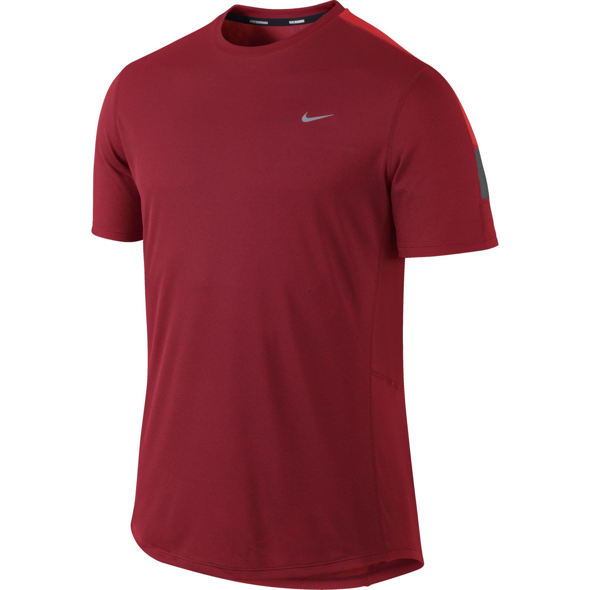 Nike Tee-Shirt Racer M v�tement running homme