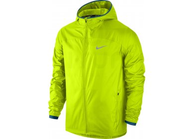 nike veste shield running m pas cher v tements homme running vestes coupe vent en promo. Black Bedroom Furniture Sets. Home Design Ideas