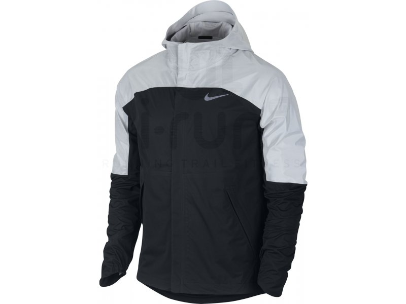 nike veste shieldrunner flash m pas cher v tements homme running vestes coupe vent en promo. Black Bedroom Furniture Sets. Home Design Ideas