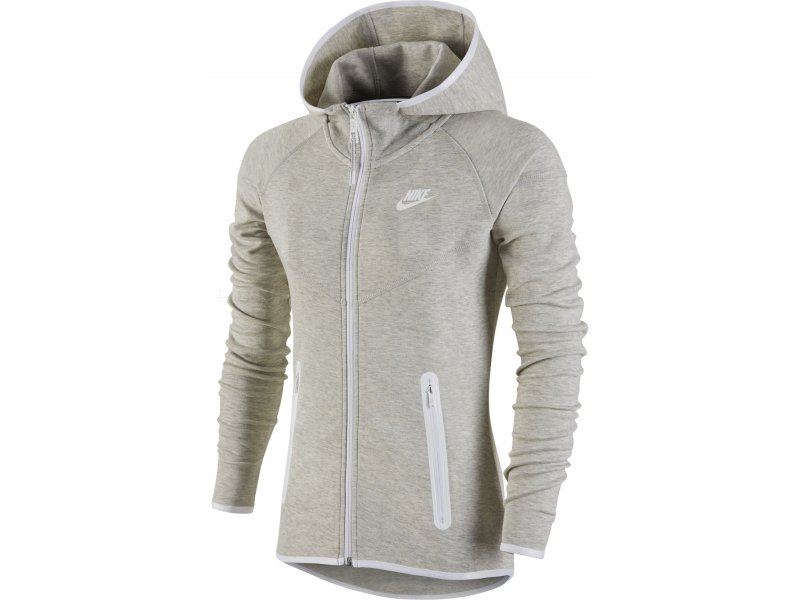 nike veste tech fleece full zip w v tements femme running vestes coupes vent nike veste tech. Black Bedroom Furniture Sets. Home Design Ideas