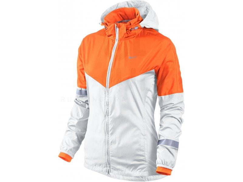 Nike Veste Vapor W pas cher Vêtements femme running Vestes coupes vent en promo