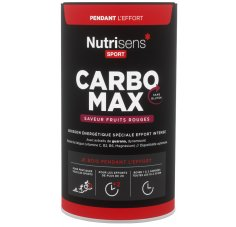 Nutrisens Sport CarboMax 750g - Fruits rouges