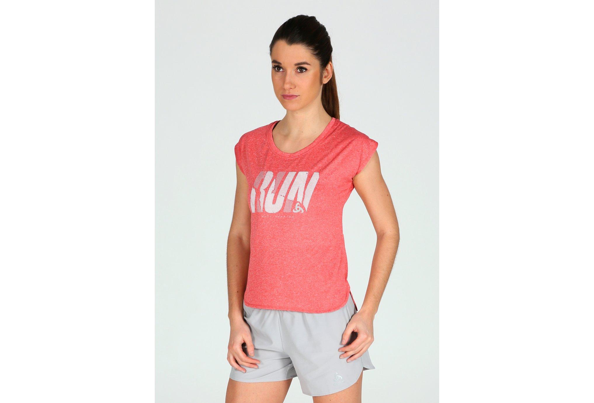 Odlo Tee-Shirt Tebe W vêtement running femme