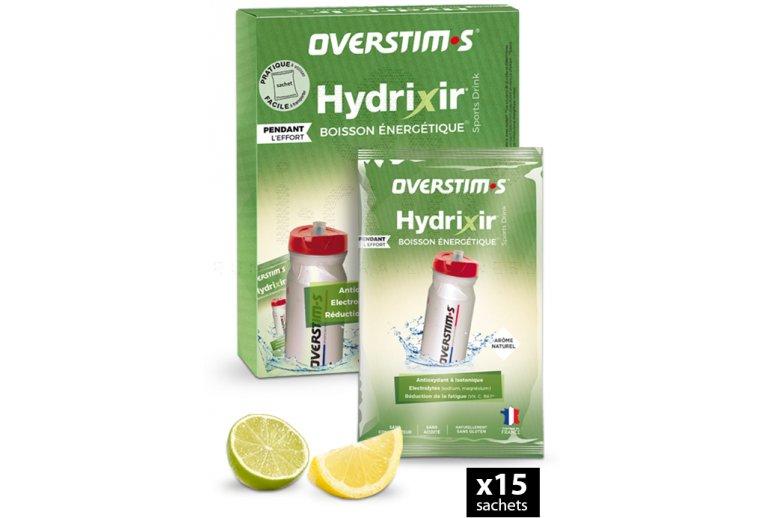 OVERSTIMS Hydrixir 15 sachets - Citron/citron vert