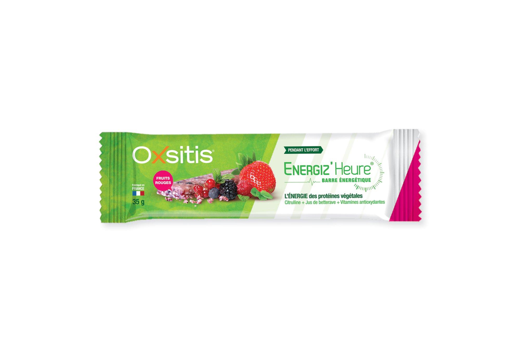 Oxsitis Barre Energétique Energiz'Heure - Fruits Rouges Diététique Barres