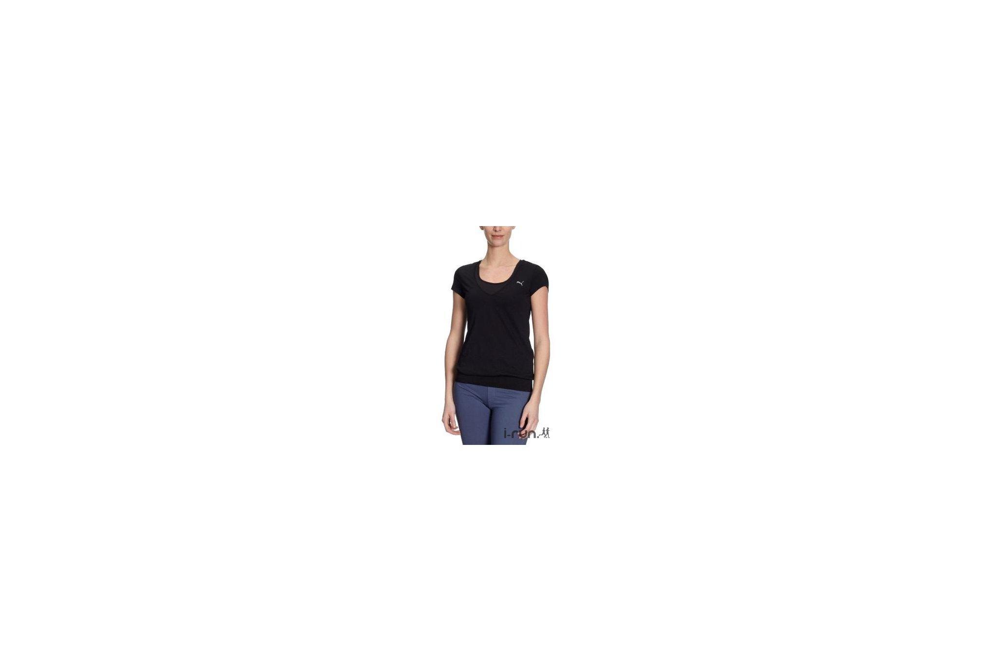 Puma Tee-Shirt L/S Damen W Diététique Vêtements femme
