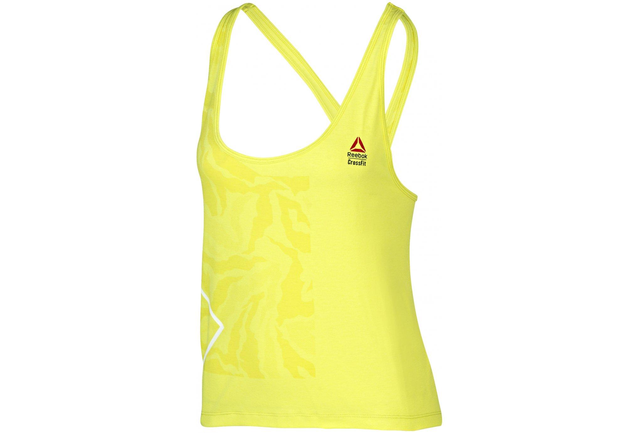 Reebok CrossFit Performance Muscle W Diététique Vêtements femme
