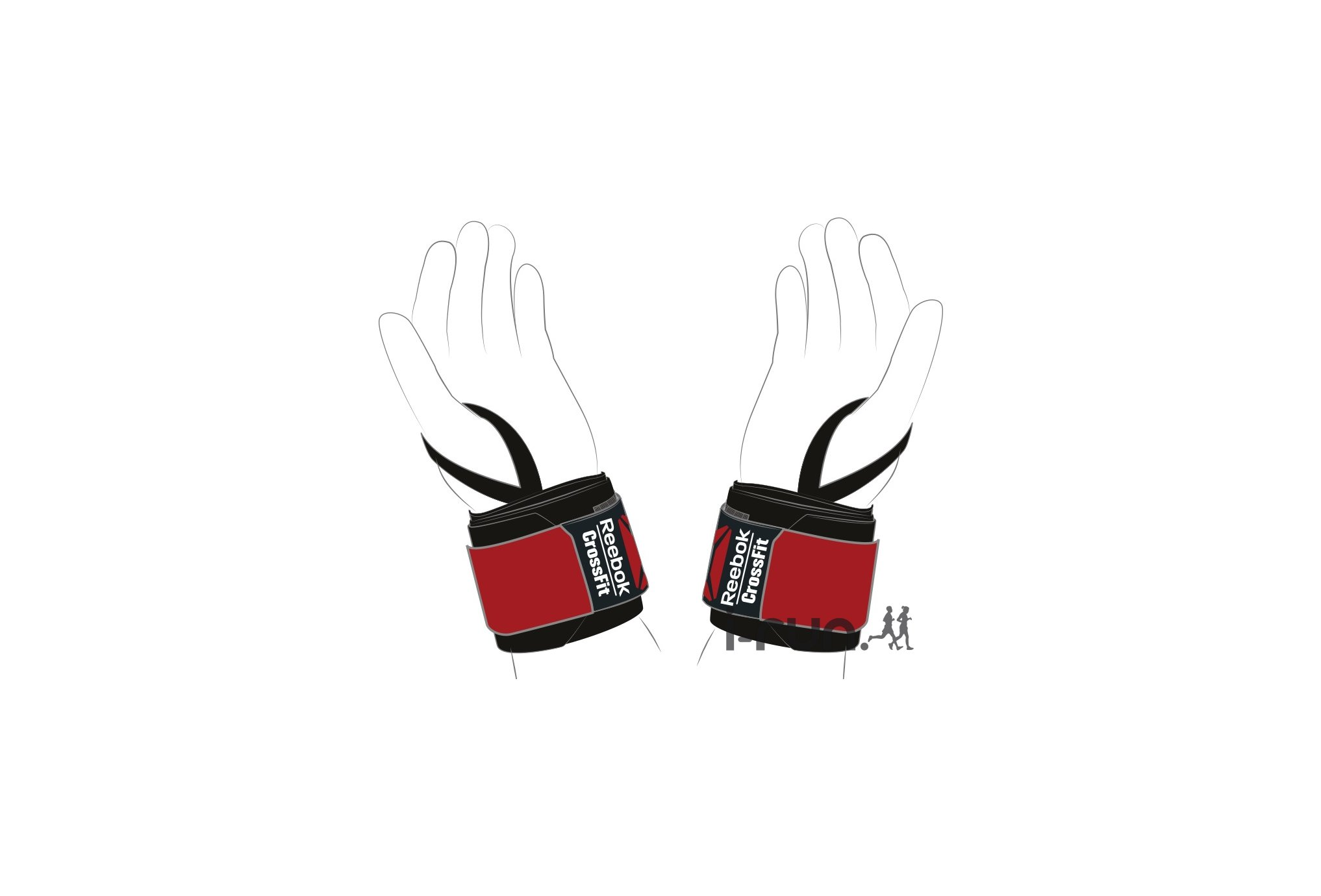 Reebok Poignets CrossFit Wrist Wrap Training