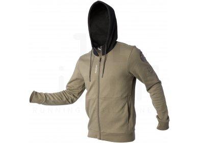 reebok veste swo fz hoody m pas cher v tements homme running sportswear en promo. Black Bedroom Furniture Sets. Home Design Ideas