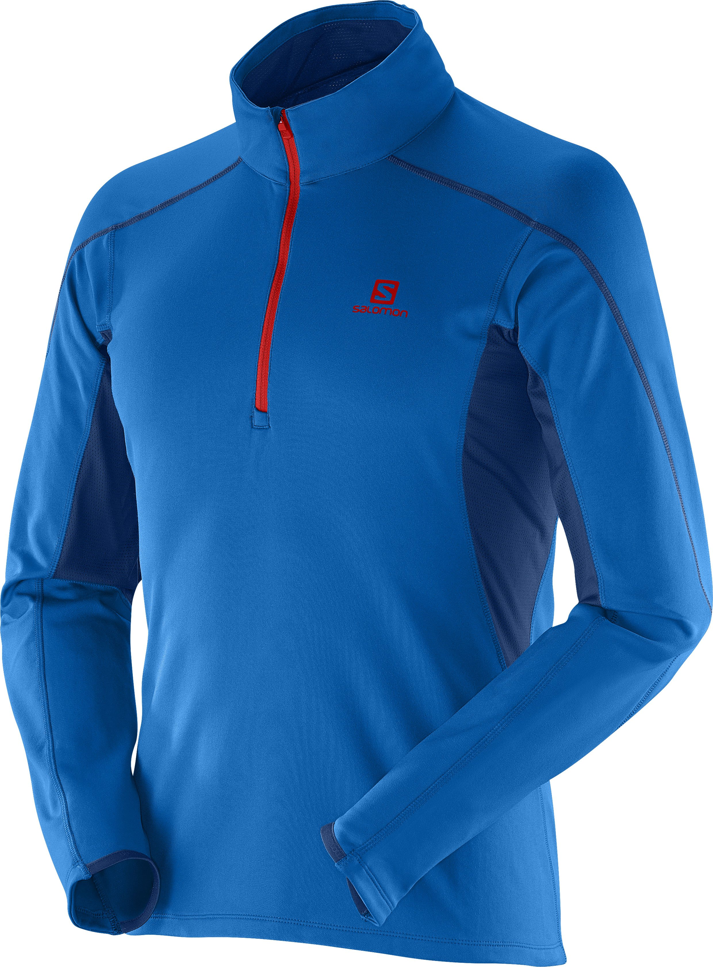 Salomon Maillot Discovery HZ TR Midlayer M v�tement running homme